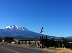 Mount shasta-CA  Perfect morning view