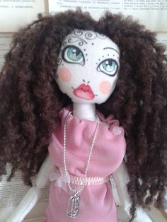 Poupette Ella OOAK cloth doll art rag doll by Poupettes on Etsy, $98.97