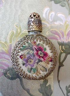 Treasury Item  Lovely Czech Perfume Bottle by TheJewelMystique, $35.00
