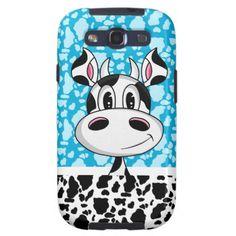 Girly Cute Cow Samsung Galaxy S3 Case - april 4