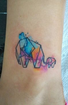 watercolor tattoo - Google Search                                                                                                                                                     More