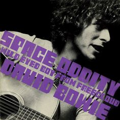 A tribute to Ziggy. The single cover of Space Oddity (1969) in an animated version. Thank you David.