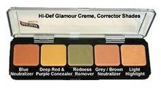 Graftobian HD Glamour Creme Corrector Palette - best corrector palette ever