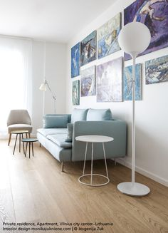 Scandinavian and Italian designs match well together, no ? #Tolomeo basculante #design Michele De Lucchi & Giancarlo Fassina #Castore Terra designed by Michele de Lucchi & Huub Ubbens.