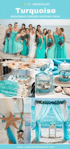 Turquoise bridesmaid dresses in chiffon fabric, paired with a white wedding dress and marine decorations, will make your beach wedding memorable. bridesmaids plus size Turquoise Bridesmaid Dresses Turquoise Wedding Dresses, Beach Wedding Bridesmaid Dresses, Cheap Bridesmaid Dresses Online, Bridesmaid Dresses Plus Size, Marie, Dresses Dresses, Chiffon Fabric, Weddingideas, Wedding Shit