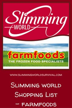 Click the pin for a list of slimming world friendly, low syn and syn free foods available at Farmfoods Slimming World Eating Out, Iceland Slimming World, Slimming World Shopping List, Slimming World Speed Food, Slimming World Survival, Slimming World Recipes Syn Free, Slimming World Plan, Shopping Lists, World Farm