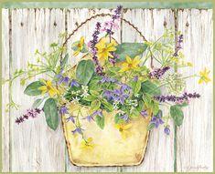 Lang June 2014 wallpaper: Herb Garden