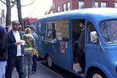Zsa's Gourmet Ice Cream was one of the 30 food trucks lined along Main Street, #Manayunk for the second StrEAT Food Festival, April 13.