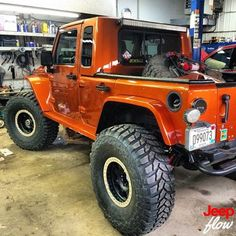 Jeep Flow — Check out this sexy custom made jk. Shout out to...