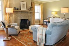 Living Spaces - traditional - living room - charlotte - Lucy and Company