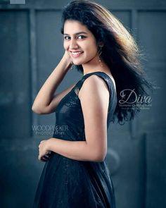 Priya prakash South Indian Actress, Beautiful Indian Actress, Beautiful Actresses, Hot Actresses, Indian Actresses, Glamour Photo Shoot, Cute Beauty, Down South, Indian Celebrities