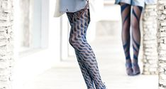 Tights of the day: Oroblu Selene Geometric Wrapping Spiral Tights.  It might be a bad idea to start a new series of posts with a product that is not...http://tights.fun/tights-of-the-day-oroblu-selene-geometric-wrapping-spiral-tights/