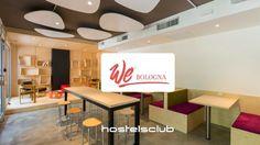 L'ostello We_Bologna è un must per chi passa per il capoluogo Emiliano! Moderno, colorato, centrale e con un'atmosfera super divertente!