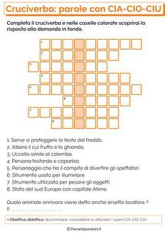 Schede didattiche gn li 2480 3508 seconda italiano pinterest for Parole con gi