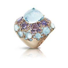 Pasquale Bruni Lady Taj blue topaz ring