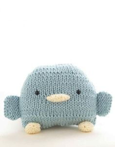 Loom-Knit Bird Toy – Knitting and Crochet Projects – Trend Knitting Patterns 2020 Loom Knitting Projects, Loom Knitting Patterns, Crochet Projects, Yarn Projects, Knitted Stuffed Animals, Cute Penguins, Lion Brand Yarn, Bird Toys, Chunky Yarn