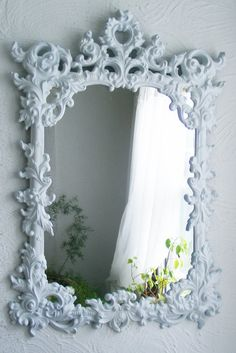 Rococo Vintage Mirror Up-cycled.
