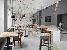 Zahorsky καφέ, μπιστρό & αρτοποιείο με νεανική ρευματοειδή αρθρίτιδα »Retail Design Blog