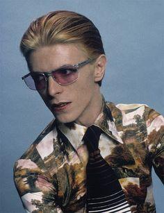Bowie by Steve Schapiro, LA, 1975