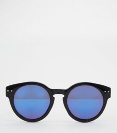 6cf5145d22 Jeepers Peepers Round Mirror Lens Sunglasses Big Sunglasses