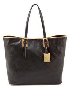 Longchamp 'LM Cuir' Large Leather Shopper