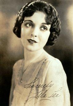 LILA LEE nee' AUGUSTA WILHELMENA FREDERICKA APPEL 07-25-1901 til 11-13-1973 (72) SILENT FILM ACTRESS.