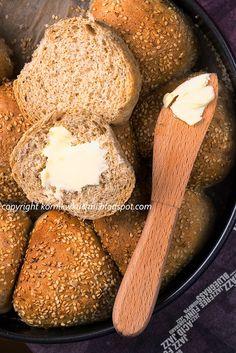 Puszyste żytnie bułeczki | kornik w kuchni Cornbread, Eat, Ethnic Recipes, Food, Millet Bread, Essen, Meals, Yemek, Corn Bread