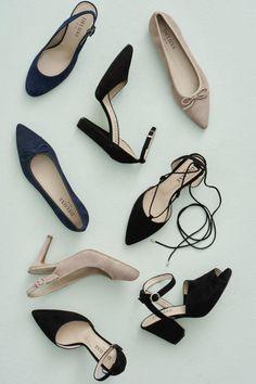 Deluxe suede slingback heel