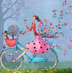 Счастье - это когда тебе ничего не нужно в данный момент, кроме того, что уже есть. Художник-иллюстратор Mila Marquis. Часть 1.. Обсуждение на LiveInternet - Российский Сервис Онлайн-Дневников