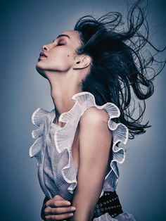 Luma Grothe by Eric Traoré for Madame Figaro October 2015 7