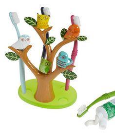 Funny Tree Shaped Kids Toothbrush Holder   Kidsomania