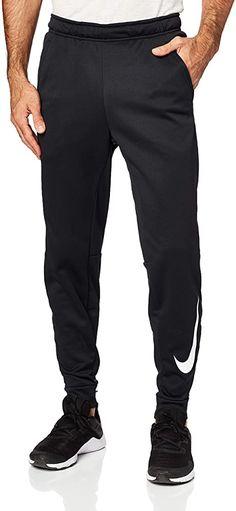 Amazon.com: Nike Mens Tapered Therma Training Sweatpants Black/White 932257-010 Size Large: Clothing Mens Taper, Training Pants, Parachute Pants, Nike Men, Sweatpants, Black And White, Amazon, Fitness, Clothing
