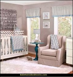 contemporary design with classic chevron and graphic prints