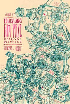 Louisiana Film Prize Festival Poster