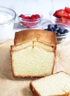 This tested recipe for traditional gluten free pound cake is the moist and tender, dense and buttery, just like you remember. It always gets rave reviews! https://glutenfreeonashoestring.com/classic-gluten-free-pound-cake/