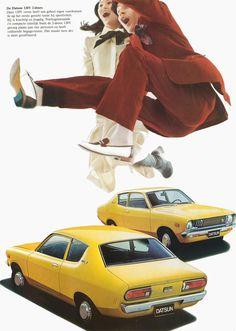 1975 Datsun 120Y brochure.