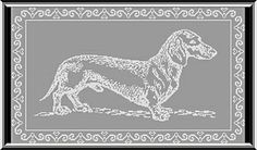 Ravelry: Dachshund Wall Hanging pattern by Jacqueline Bartee