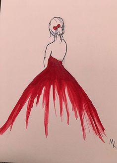 scarlet artwork trahan megan par Scarlet artwork par Megan Trahan You can find Dessin facile and more on our website Art Drawings Sketches Simple, Pencil Art Drawings, Easy Drawings, Realistic Drawings, Arte Sketchbook, Diy Canvas Art, Painting & Drawing, Drawing Drawing, Cute Art