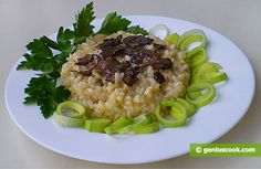 The Recipe for Risotto with Black Truffles | Italian Food Recipes | Genius cook - Healthy Nutrition, Tasty Food, Simple Recipes
