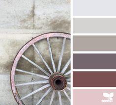 color palette - rustic tones