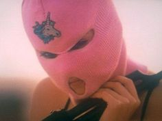Spring Breakers: coming to October Badass Aesthetic, Bad Girl Aesthetic, Pink Aesthetic, Skii Mask, Fille Gangsta, Spring Nail Colors, Spring Nails, Thug Girl, Gangster Girl
