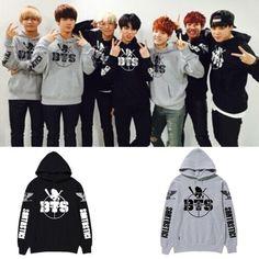 KPOP BTS Cap Hoodie Sweater Bangtan Boys Jungkook Unisex Coat Rap Monster V Jin   Clothing, Shoes & Accessories, Unisex Clothing, Shoes & Accs, Unisex Adult Clothing   eBay!