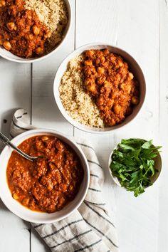 Moroccan Chickpea Tomato Stew | The Full Helping | Bloglovin'