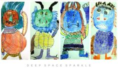 Where The Wild Things Are Inspired Art Lesson Gallery Kids Watercolor, Watercolor Projects, Watercolor Drawing, Drawing Activities, Book Activities, Teaching Resources, Teaching Ideas, Art Sub Plans, First Grade Art