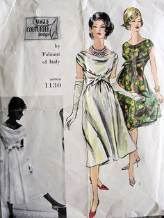Vogue 1130 A - Vintage Sewing Patterns - Wikia
