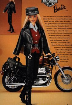 Chrissy's Barbie Corner - Harley-Davidson Barbie