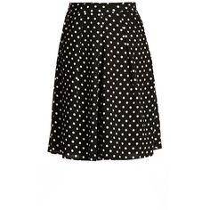 City Chic Midi Spot Skirt ($30) ❤ liked on Polyvore featuring plus size women's fashion, plus size clothing, plus size skirts, skirts, mid calf skirts, flippy skirt, vintage skirts, polka dot midi skirt and vintage midi skirt