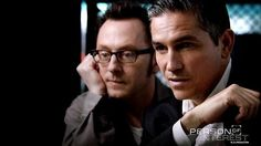 I don't know why, but I absolutely love this picture of Jim Caviezel and Michael Emerson from Person of Interest. :)