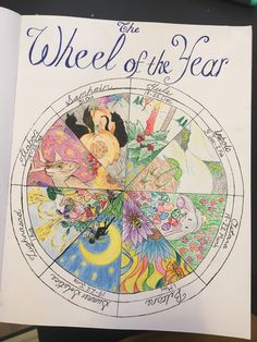 """cunningcelt: """"rabbit-witch: """"A few pages from my grimoire """" Holy crap that is gorgeous! """" Your grimoire is absolutely stunning ohmygoodness 😍I love all the colour ~ Bullet Journal Ideas Pages, Bullet Journal Inspiration, Wicca Witchcraft, Magick, Grimoire Book, Under Your Spell, Baby Witch, Season Of The Witch, Modern Witch"""