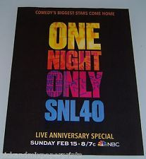 one night only SNL 40 - Google Search